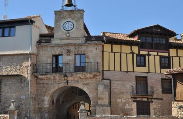 The town of Burgos that sits on the largest salt deposit in Europe