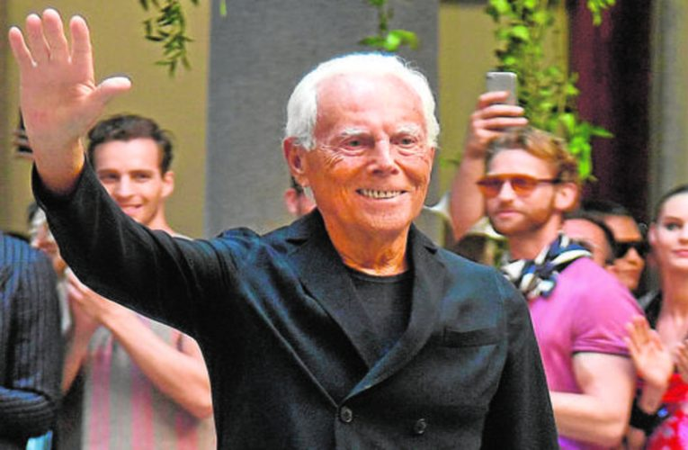 Armani, the master of Italian fashion repudiates waste