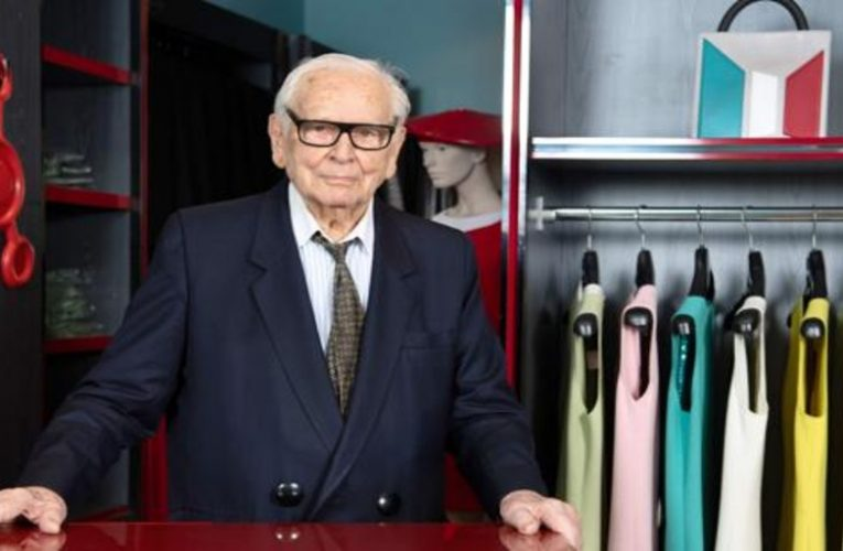 Goodbye to Pierre Cardin, the fashion rebel visionary