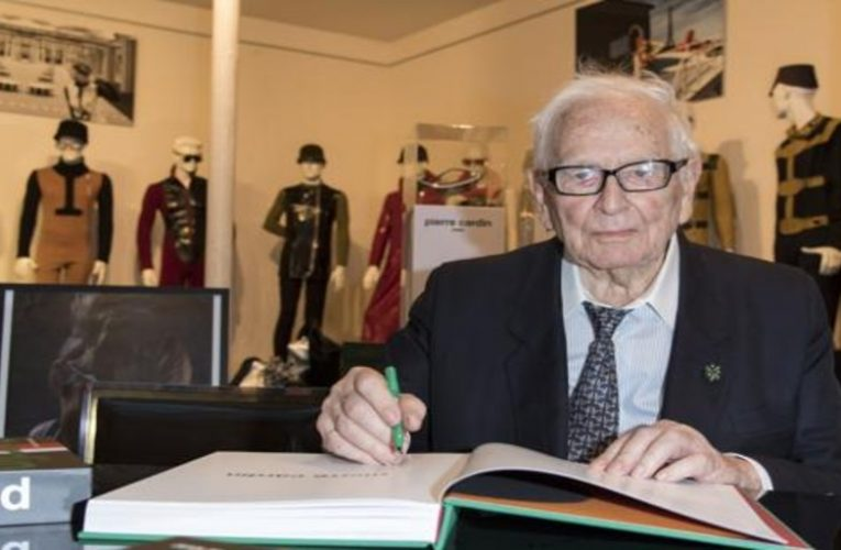 Fashion designer Pierre Cardin dies