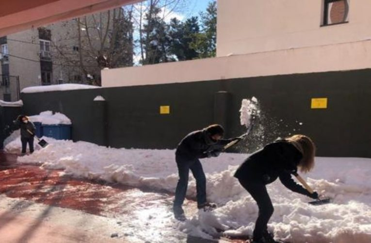 AMPA and families turn to cleaning work at Wisdom School Madrid