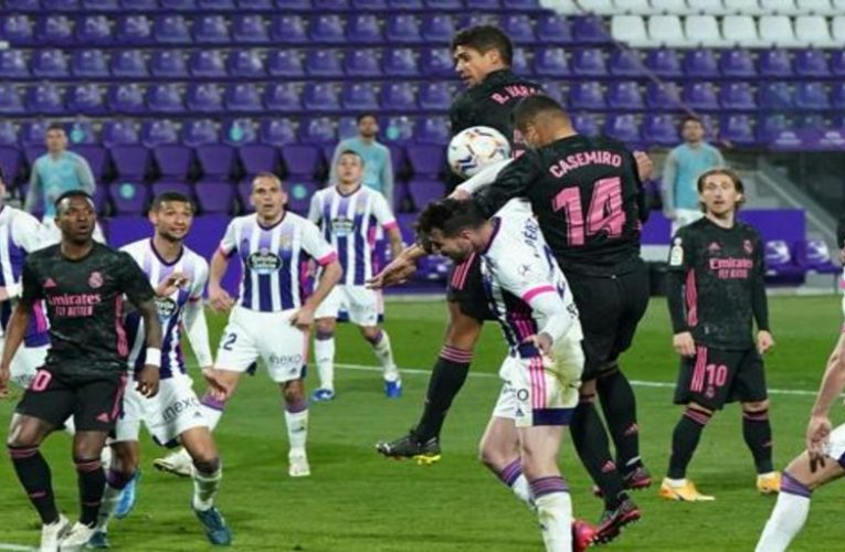 This was Casemiro's goal that opened the can against Valladolid