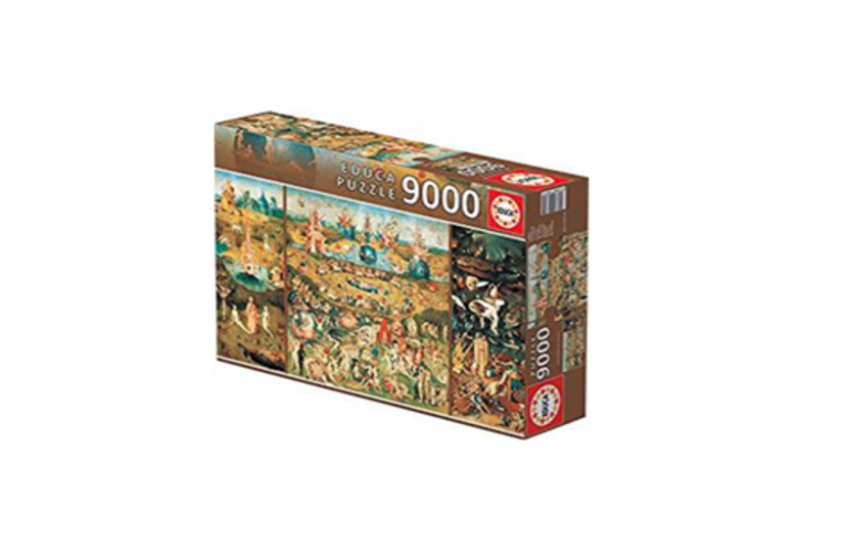 Do you want to win a fantastic puzzle of The Garden of Earthly Delights?