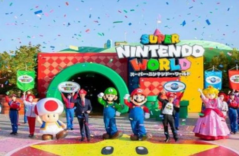 this is the first Super Mario park