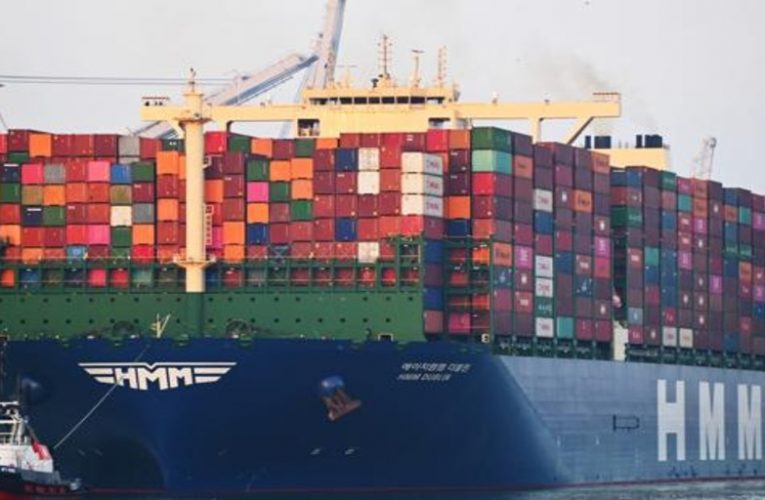 The ten largest container ships in the world