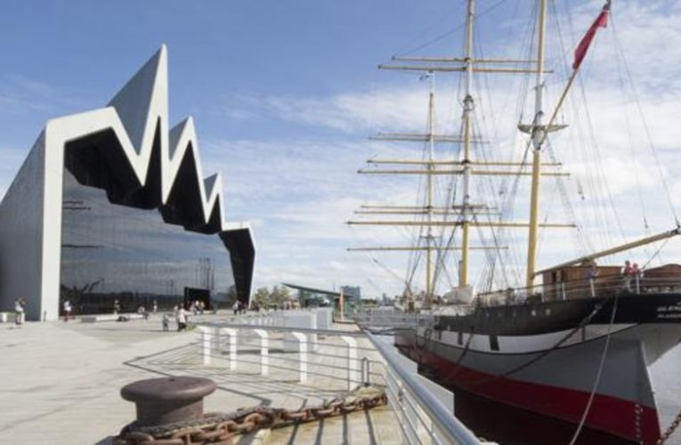 An old ship of the Spanish Armada is the great tourist attraction of Glasgow