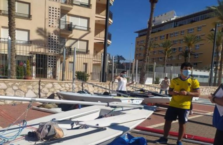 The National ILCA 6 starts in Águilas