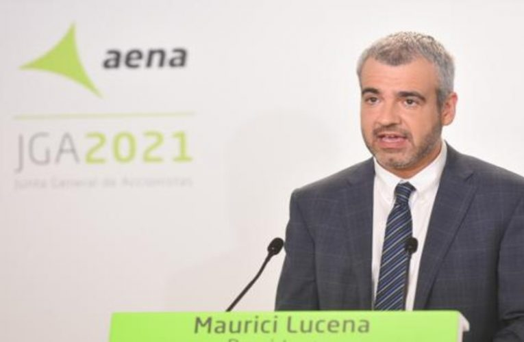 AENA warns that the recovery of air traffic may be delayed to 2026