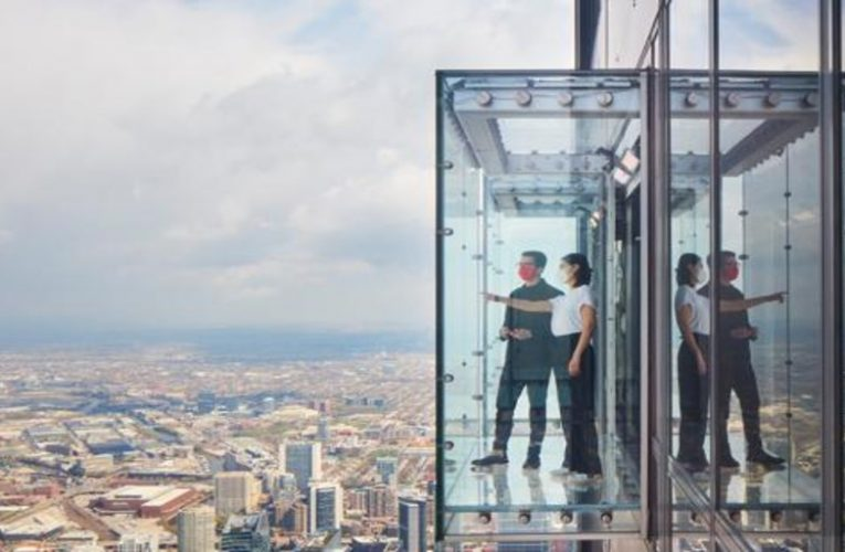 This is the dizzying highest observation deck in the United States