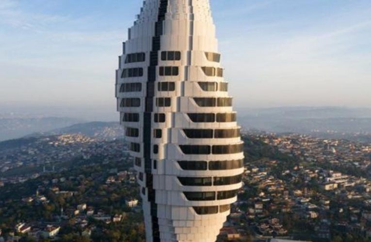 The new futuristic tower that has changed the landscape of Istanbul