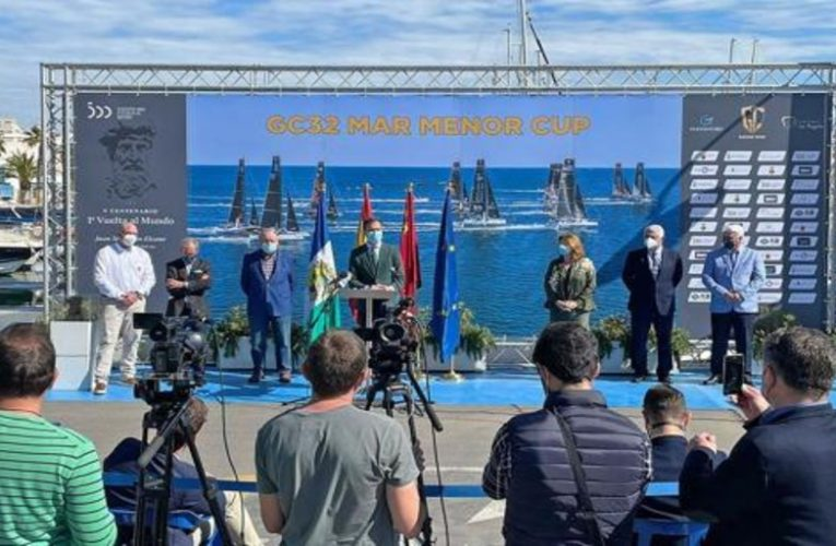 The Mar Menor will host the final of the GC32 Racing Tour 2021