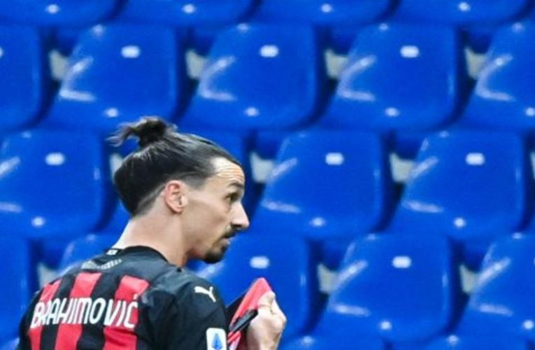 Ibrahimovic could be up to three years without playing because of a gambling case