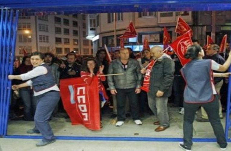 The PSOE and its partners give free rein to violent pickets