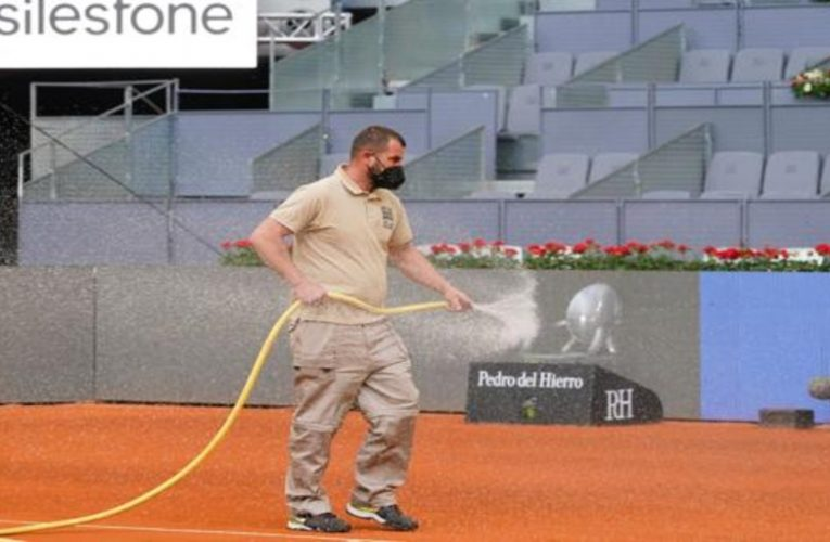 The greatest pampering for the Mutua Madrid Open courts