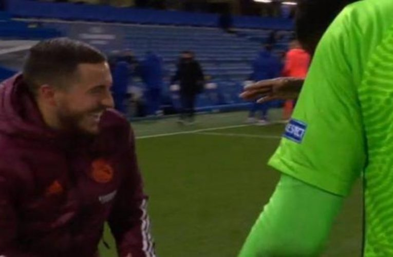 Eden Hazard apologizes for his laughter after the European elimination