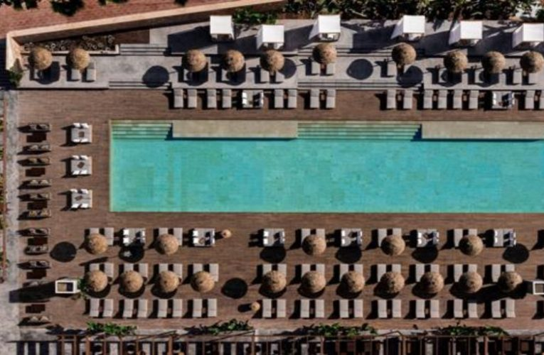 This is the new largest pool in Ibiza