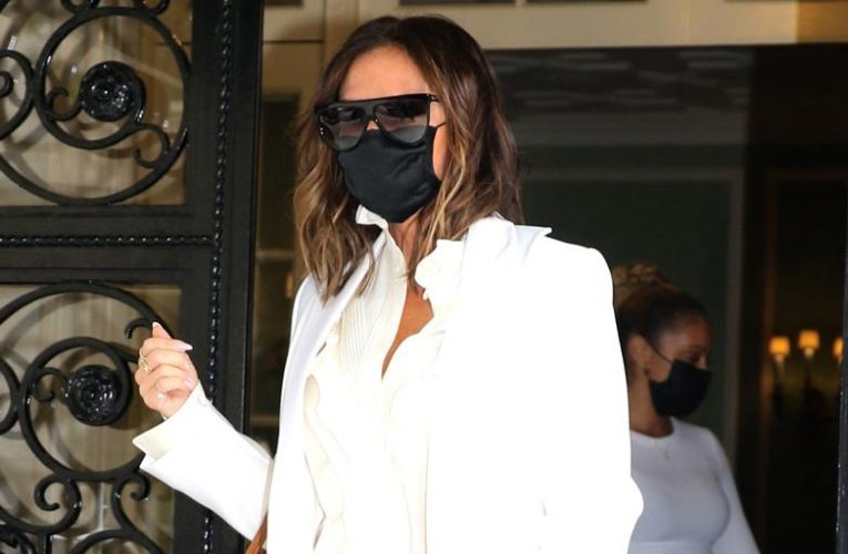 The affordable take on Victoria Beckham's off-road look that lengthens the legs