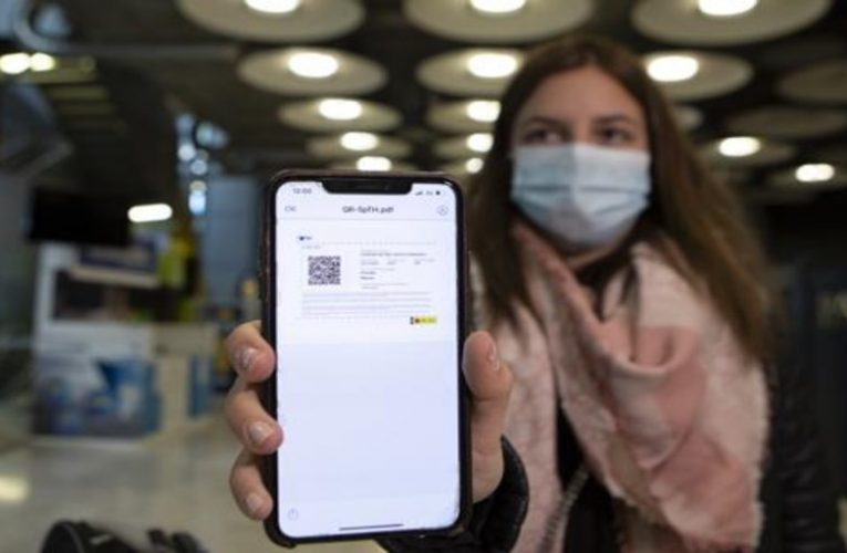 Is PCR needed to travel within Spain?