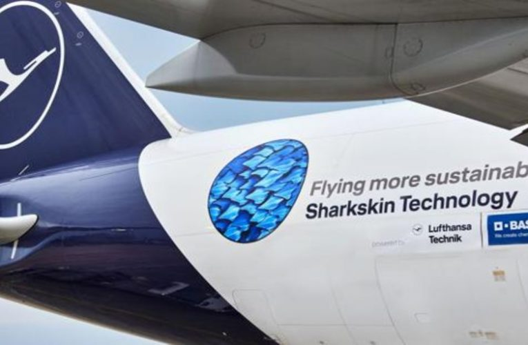 New planes mimic shark skin to save fuel