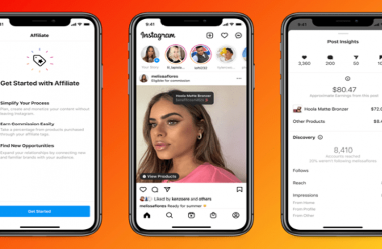 Facebook and Instagram announce new features to attract inluencers