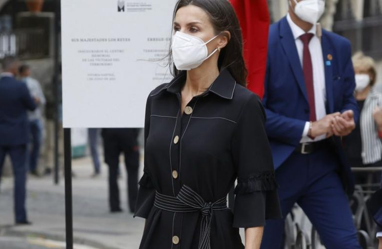 Queen Letizia bets on Basque fashion during her visit to Vitoria