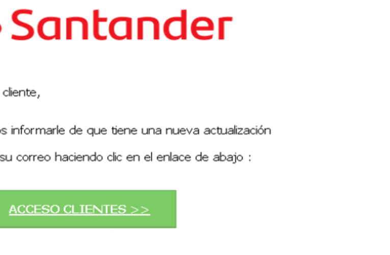 warn about cyber scams to steal money from clients of Santander, CaixaBank and BBVA