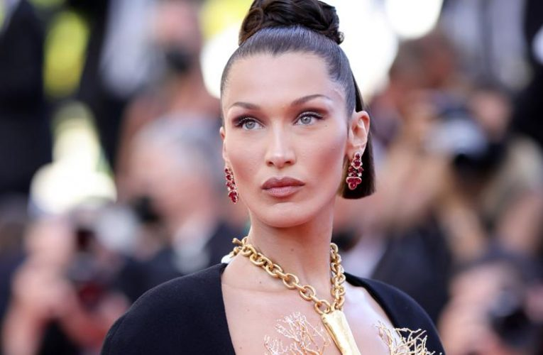The bra necklace that Bella Hadid has made viral in Cannes